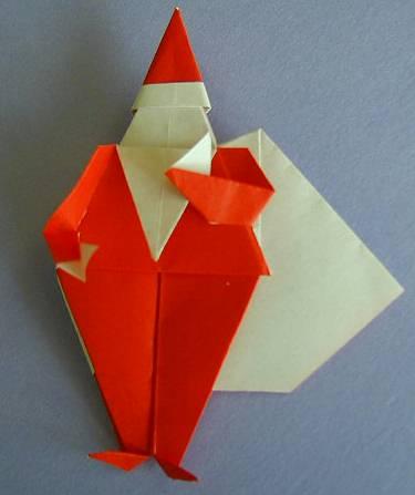 クリスマス 折り紙 サンタ 折り紙 : home.att.ne.jp