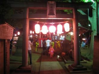 今井神社 入口