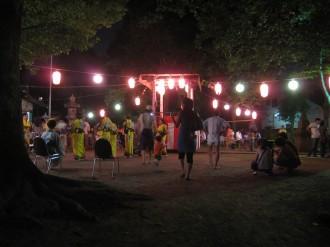 今井神社 盆踊り大会会場