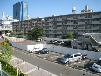 武蔵小杉駅駐輪場(北)跡地