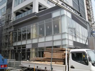 シティハウス武蔵小杉 低層部テナントスペース(現在)