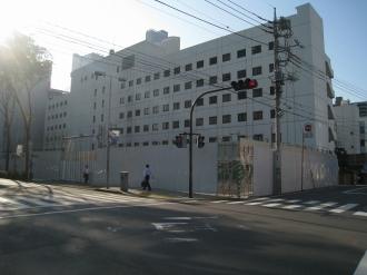 ホテル・ザ・エルシィ跡地(南部沿線道路より)