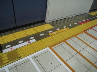 日吉駅の目黒線ホーム
