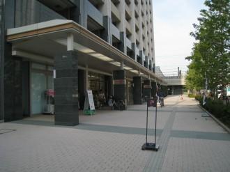 デリド武蔵小杉店 雨天時販売予定地