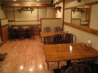 KITCHEN ICHIROUの店内(2)