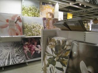 IKEA港北 絵画売り場