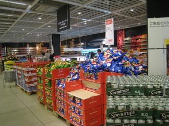 IKEA港北 スウェーデン食品売り場