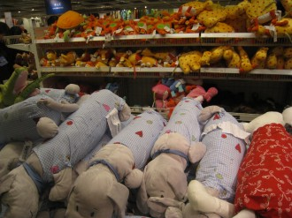 IKEA港北 ぬいぐるみ売り場