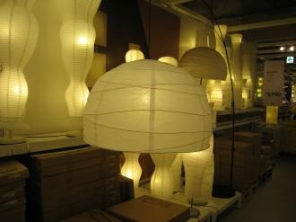 IKEA港北 照明売り場