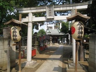 祭礼当日の今井神社