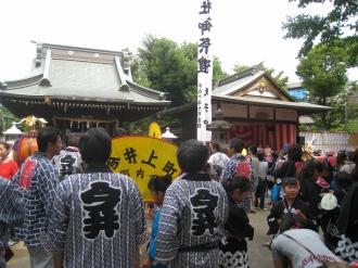 今井神社祭礼(本宮)