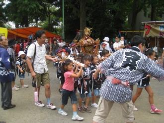 今井西町の子ども神輿