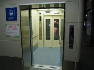 武蔵小杉駅北口エレベーター(1階)