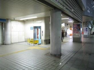 武蔵小杉駅北口エレベーター 1階ロータリー