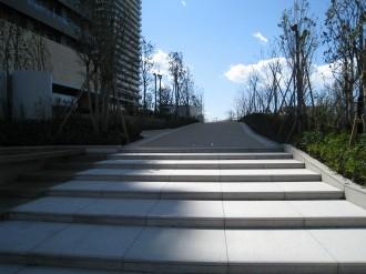 リエトコート武蔵小杉イーストタワー入口