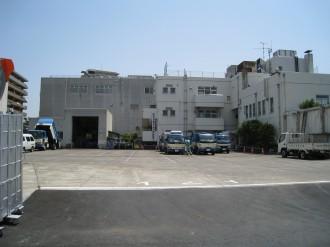 中原生活環境事業所のターミナル入口