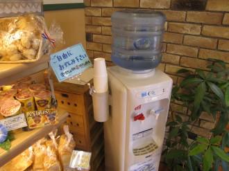 小麦工房みのやの冷水