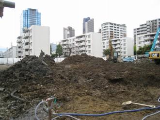 新日本石油社宅 12号棟・13号棟跡地