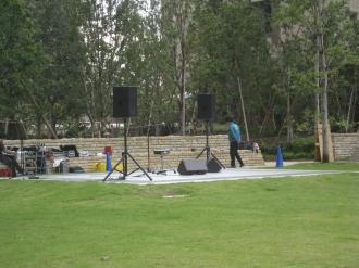 音楽ステージ