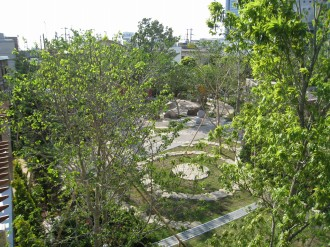 パークシティ武蔵小杉ステーションフォレストタワーの公開空地