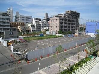 (仮称)F1地区東街区計画 現地