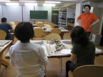 陶花楽工房 教室の風景