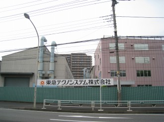 東急テクノシステムとガーデンティアラ武蔵小杉